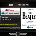 Canal de música na SKY TV - SKY TV