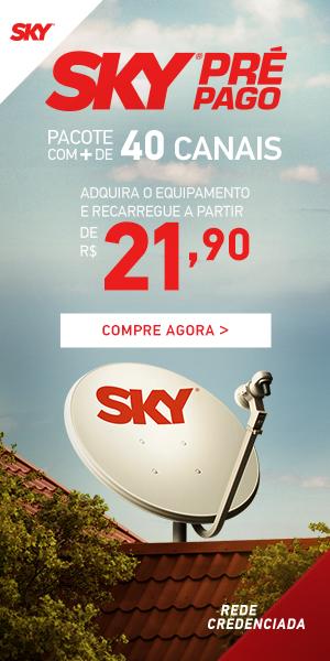 Pré Pago - SKY TV