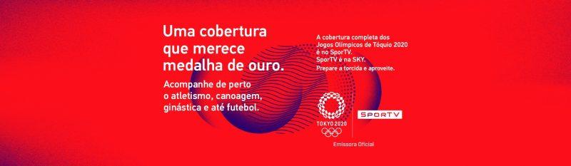 Olimpíadas é na SKY TV - SKY TV